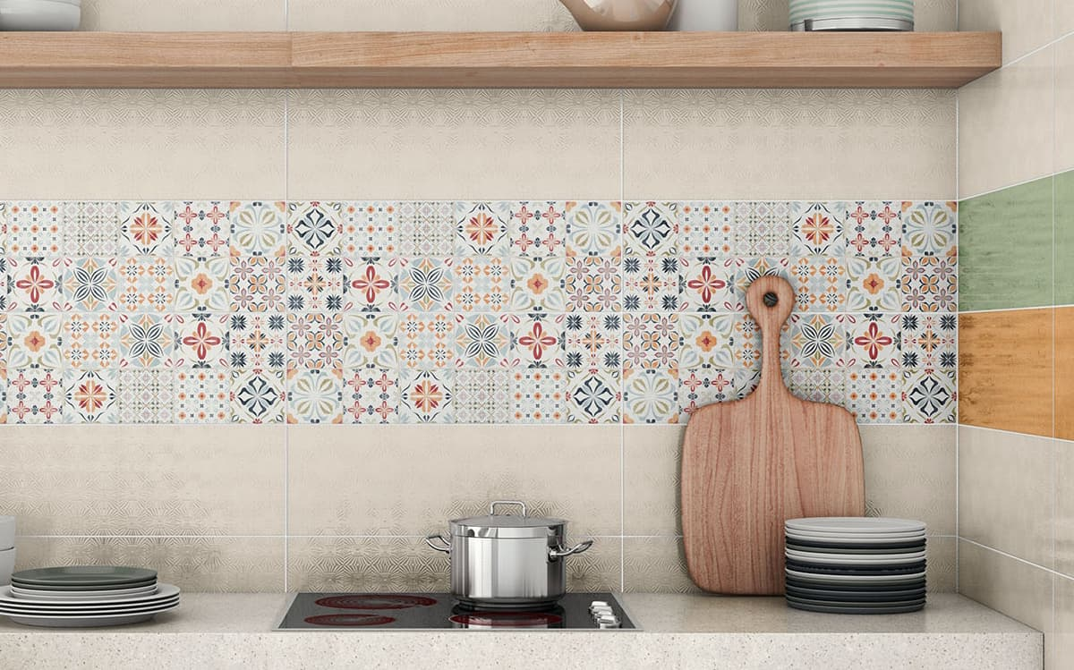 patchwork tile backsplash ideas kitchen kitchen backsplash tiles View in gallery kitchen backsplash tile pavigres almira
