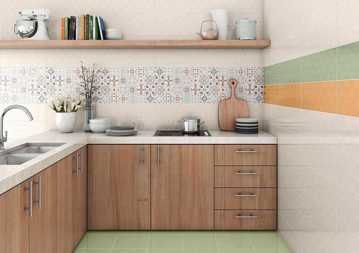 patchwork tile backsplash ideas kitchen kitchen tile designs View in gallery unusual kitchen backsplash design pavigres almira
