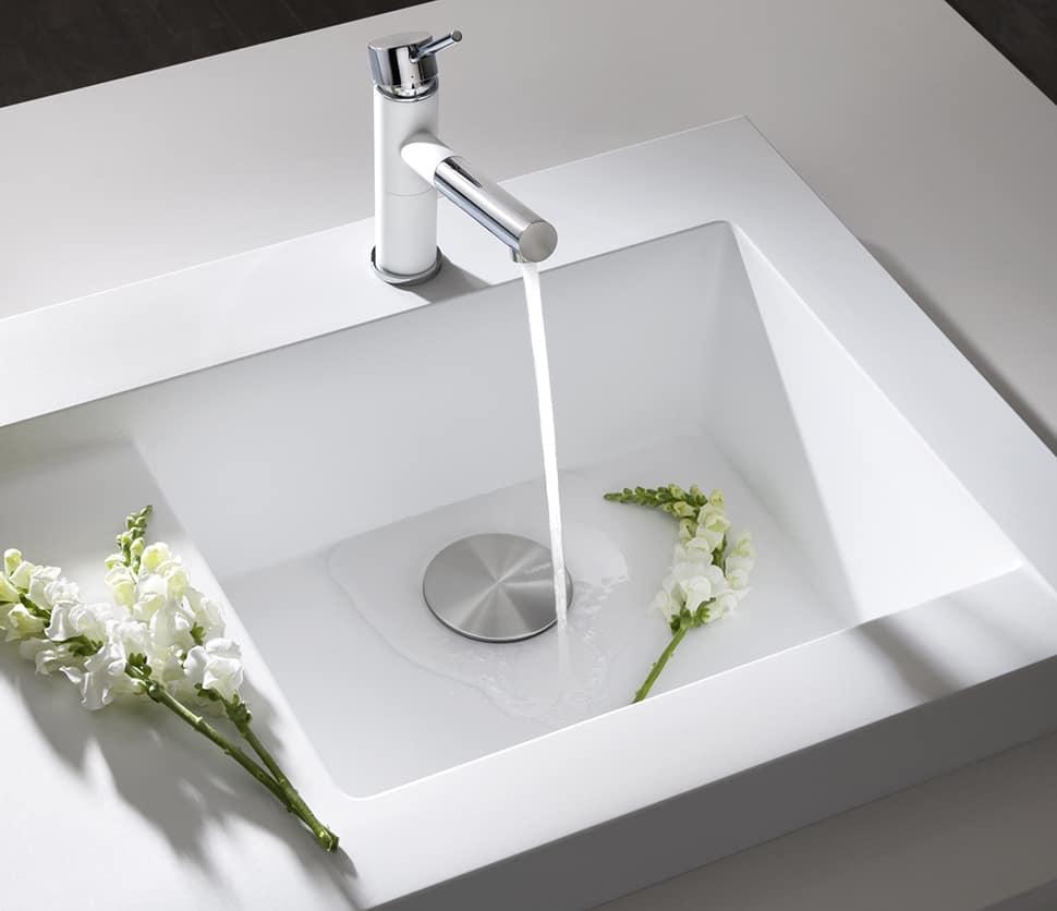 raised kitchen sink workstation dual draining modex blanco 3 drain bottom