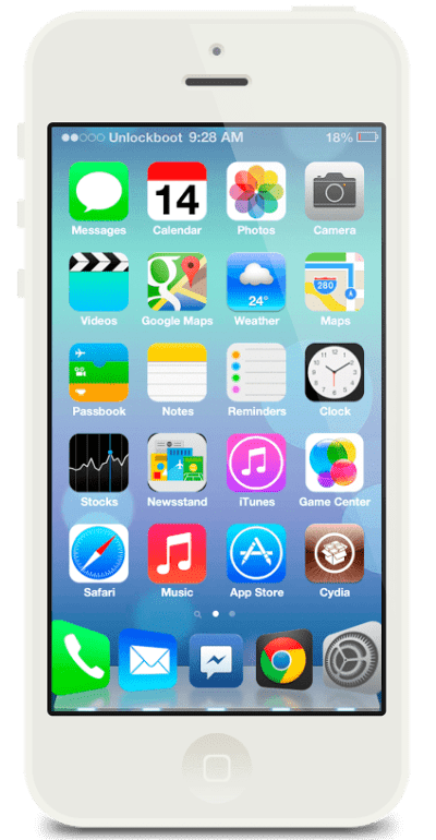 IOS 7 Theme for iOS 6 iPhone 5/4/4S & iPod Touch [Guide]
