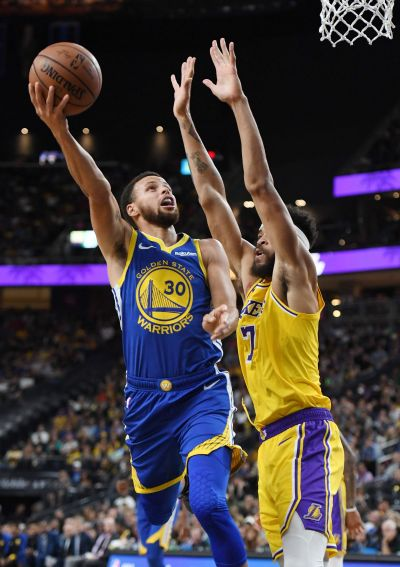 Our first taste of a Warriors vs. LeBron-led Lakers matchup - Golden State Of Mind