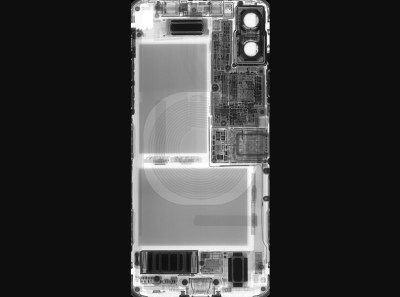 Here's a cool see-through iPhone X wallpaper that shows off its innards - The Verge
