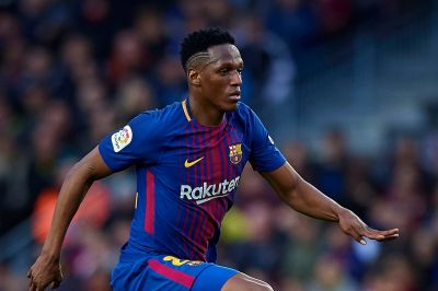 Yerry Mina Adapting Well But Still Learning at Barcelona - Barca Blaugranes