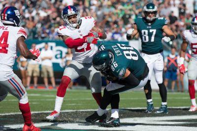 Eagles vs. Giants game TV coverage map - Bleeding Green Nation