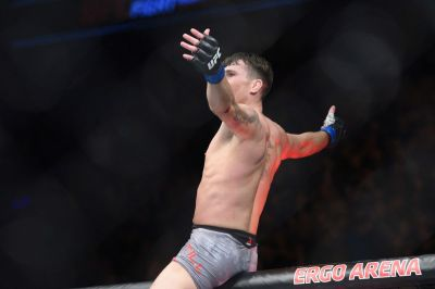UFC Gdansk's Darren Till gets into it with Mike Perry following huge win over Donald Cerrone ...