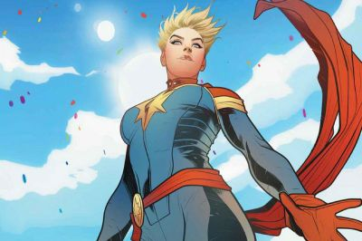 Setting Captain Marvel in the '90s hints at how much she matters - The Verge
