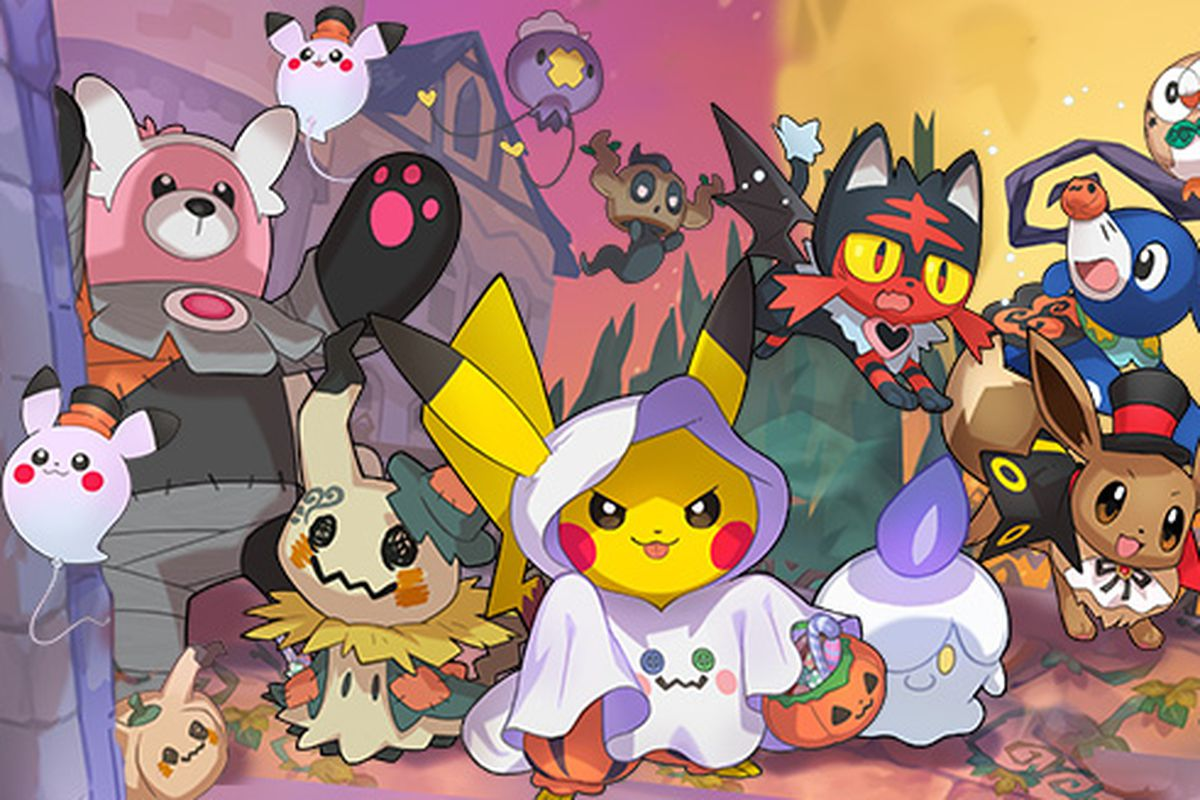 Pok    mon Go Halloween event reveal has players sure new monsters are     The Pok    mon Company