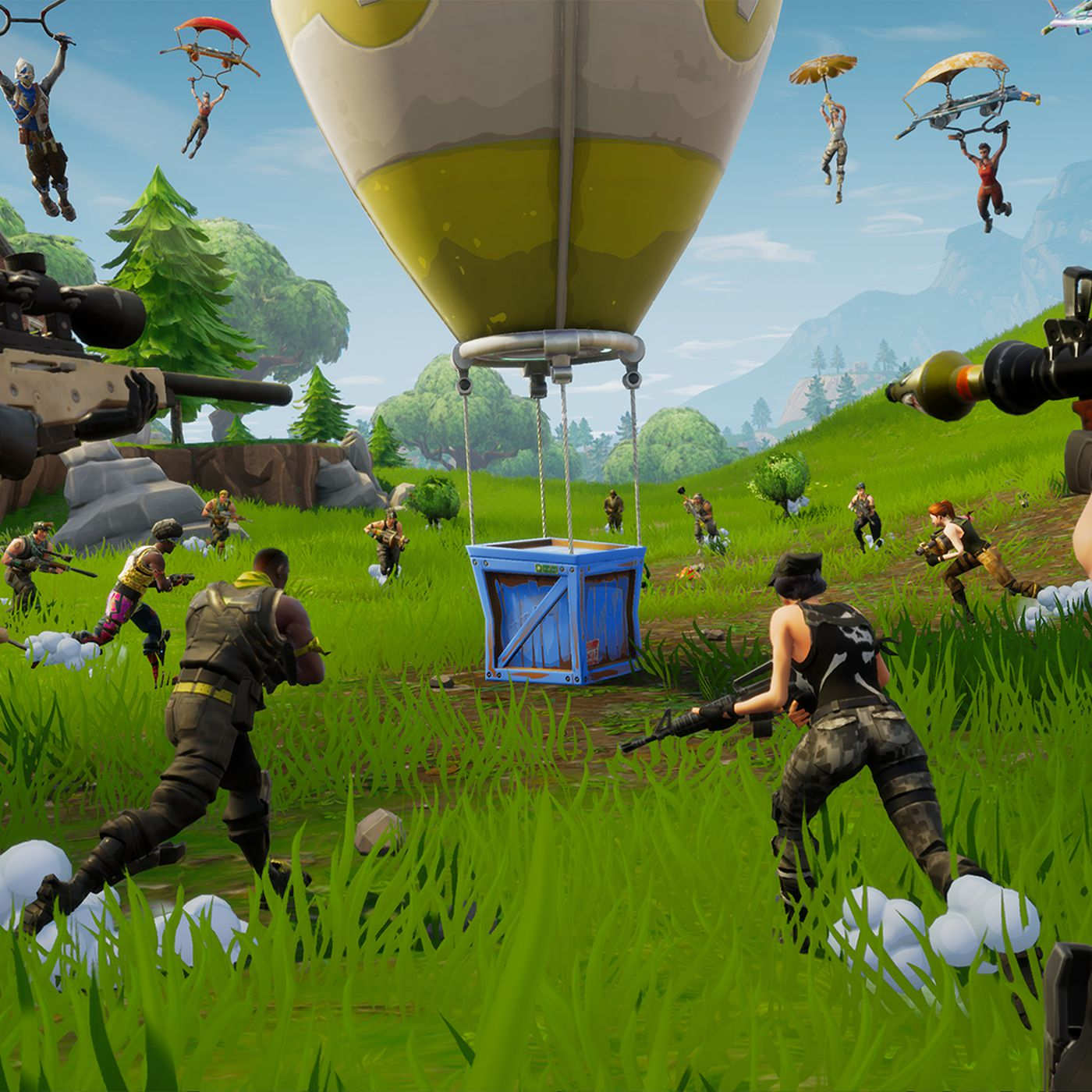 Calling Fortnite a battle royale game misses the point   Polygon