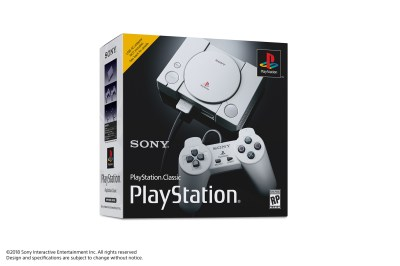 PlayStation Classic, a $100 mini PS1 with 20 games, coming in December - Polygon