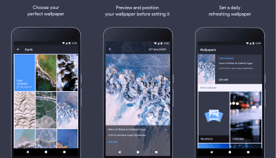 Google's new Wallpapers app gives your phone that fresh feeling - The Verge