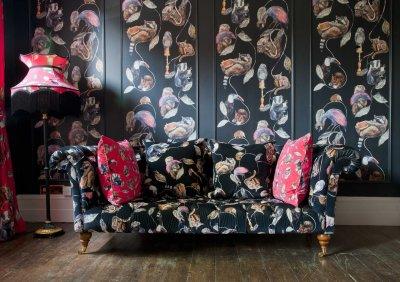Hackney Empire by House Of Hackney - Midnight : Wallpaper Direct