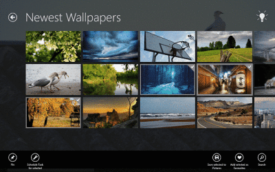 Download free HD wallpapers on Windows 10, 8 with this app