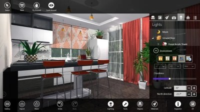 Design your House With 'Live Interior 3D' App for Windows 8, 10