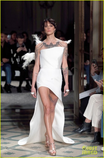 Asia Argento Walks the Runway for Antonio Grimaldi Show ...