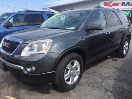 2011 Gmc Acadia SLE 4dr SUV In Michigan City IN   KarMart Michigan City 2011 GMC Acadia SLE 4dr SUV   Michigan City IN