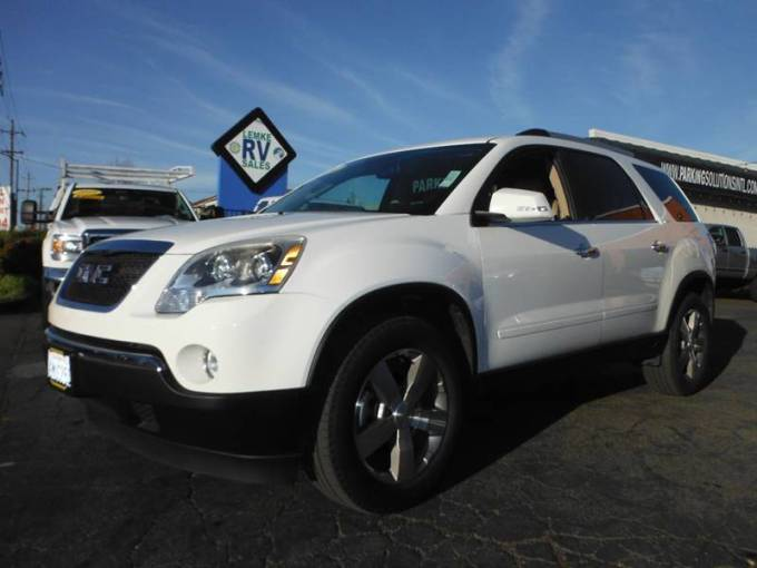 2011 Gmc Acadia SLT 1 4dr SUV In Citrus Heights CA   Palms Auto Sales  13 999