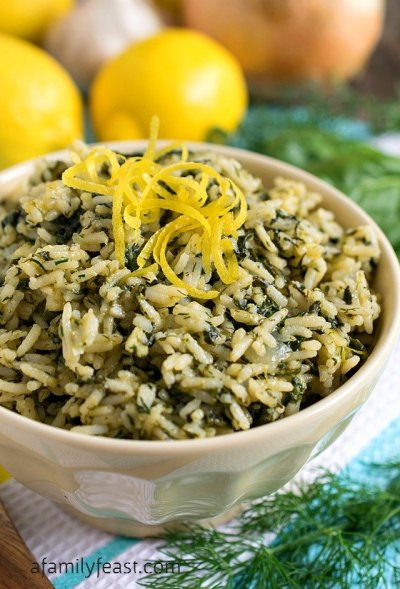 Rice Pilaf - A Family Feast