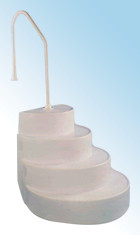 Classic Pools Wedding Cake Step Entry System