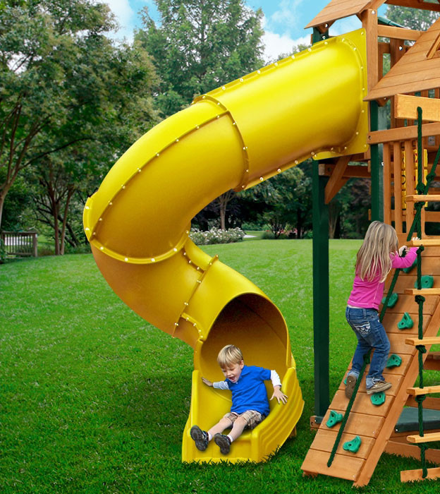 Radical Ride Tube Slide - SwingSetMall.com