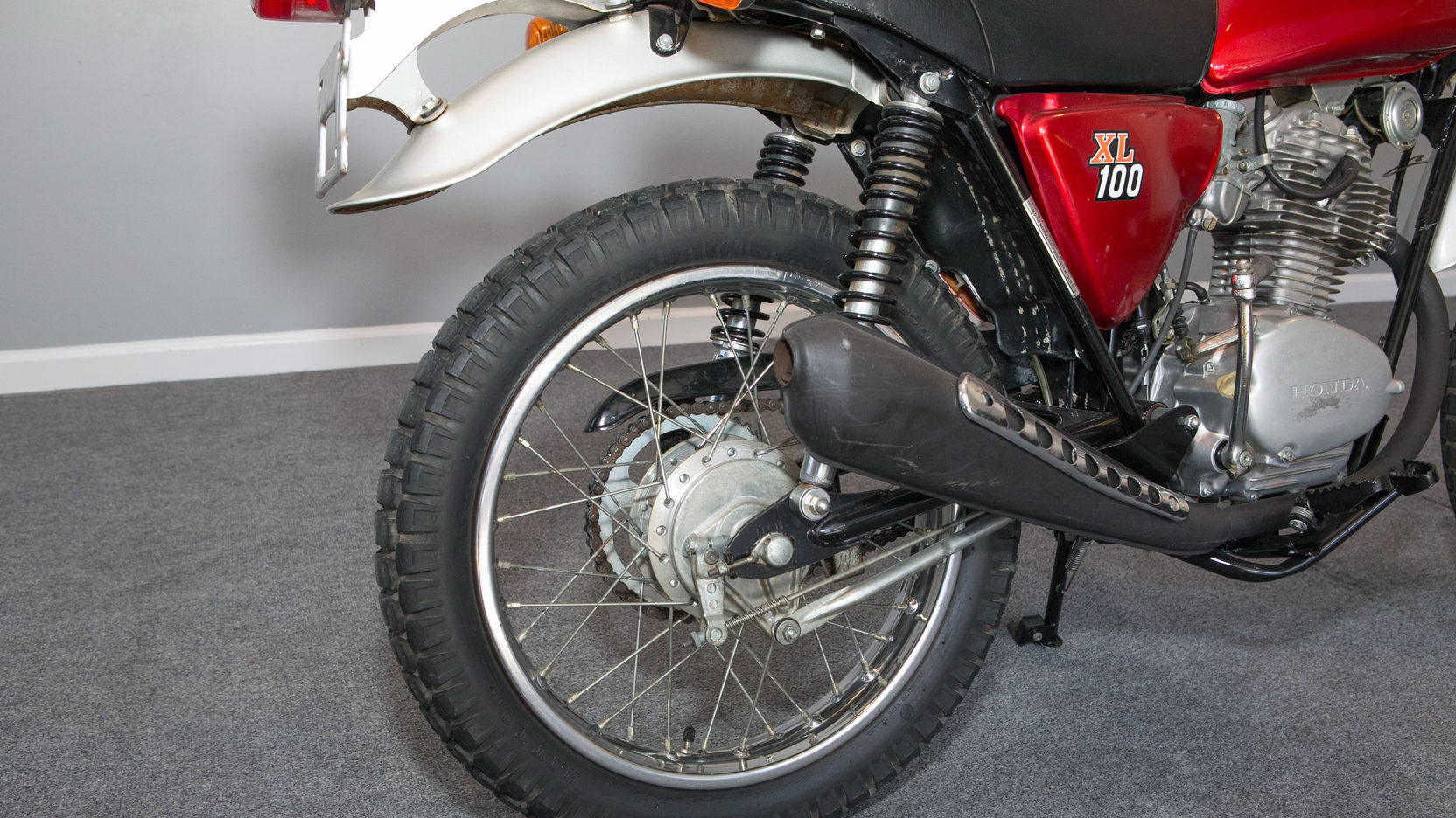 1975 Honda XL100 Enduro | F27 | Chicago Motorcycles 2016