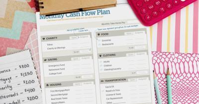 Free Download: Monthly Cash Flow Plan | DaveRamsey.com