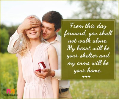 Best Marriage Proposal Quotes That Guarantee A Resounding ...