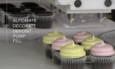 Bakery Depositors  Cookie Machines  Filling Machines  Cake     WHAT WE DO