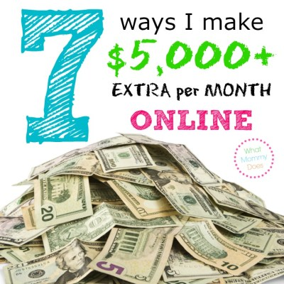 7 Ways to Make $800 Extra per Month