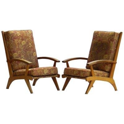 Mid-Century Lounge Chairs, 1950s, Set of 2 - Haustechnik thiel