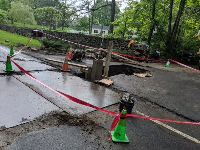 1 Injured After Being Trapped In Collapsed Trench In ...