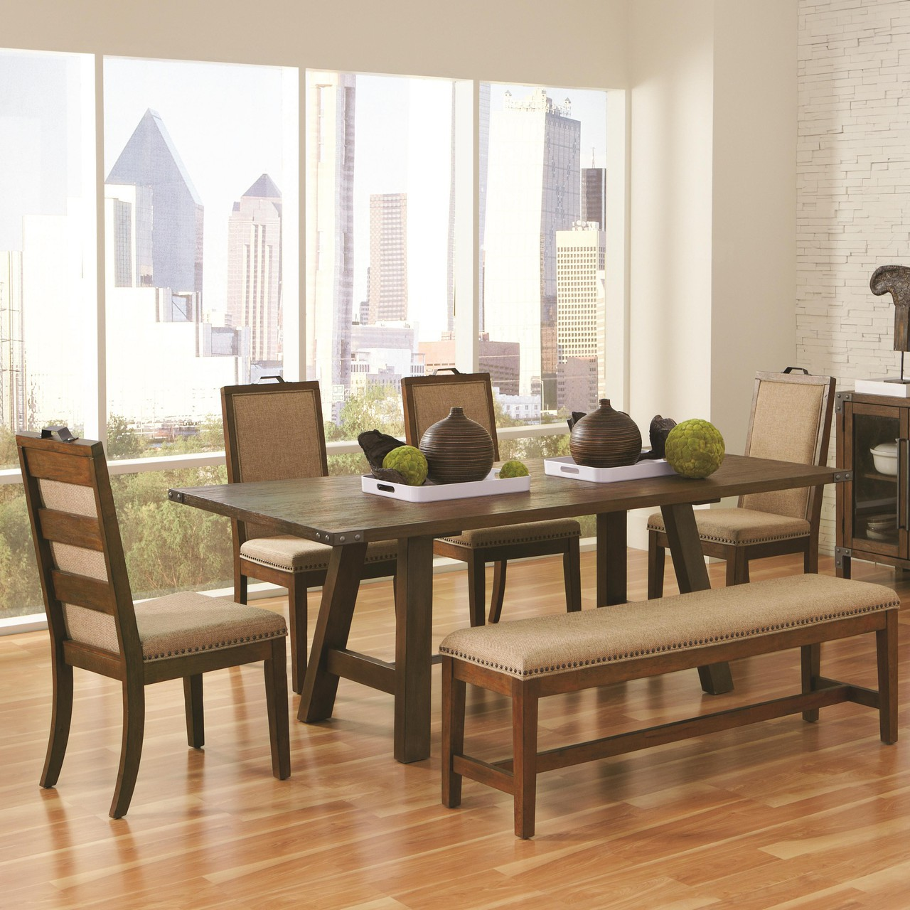 fall trend rustic dining table and chair sets kitchen table chairs Weathered Acacia Dining Table Set
