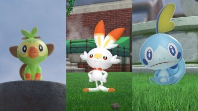 Ranking the New Starters from Pokemon Sword and Shield