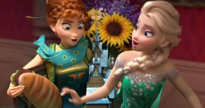 Frozen 2 First Look at Anna & Elsa's Return
