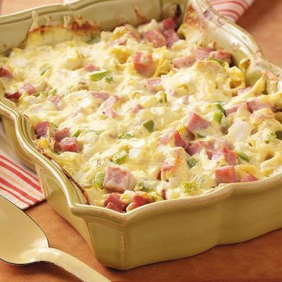 Ham and Swiss Casserole Recipe   Taste of Home