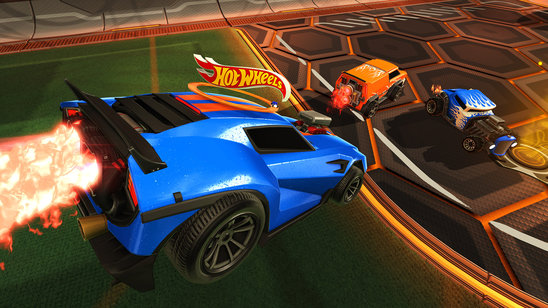 Rocket League getting Hot Wheels cars   Polygon 1 of 6