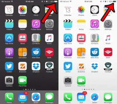 Why Does My iPhone Battery Icon Switch from Black to White? - Solve Your Tech