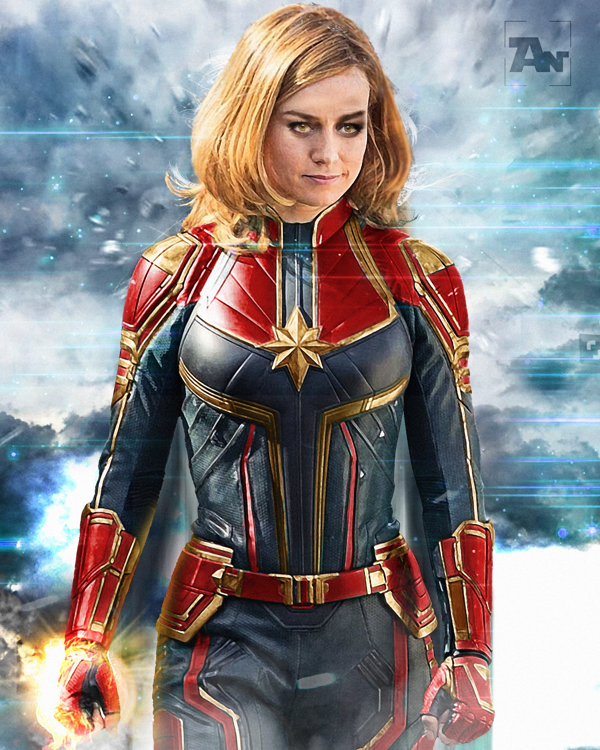 ArtStation   Captain Marvel 2  Anarky Design Scroll to see more