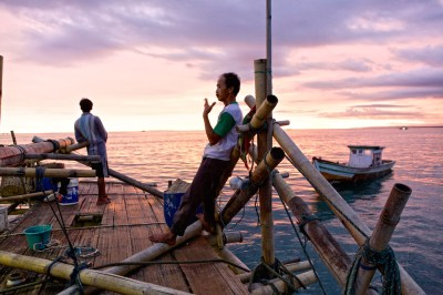 Life in the Floating Fishing Villages of Indonesia ...