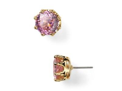 Lyst - Juicy Couture Shoreline Stud Earrings in Pink