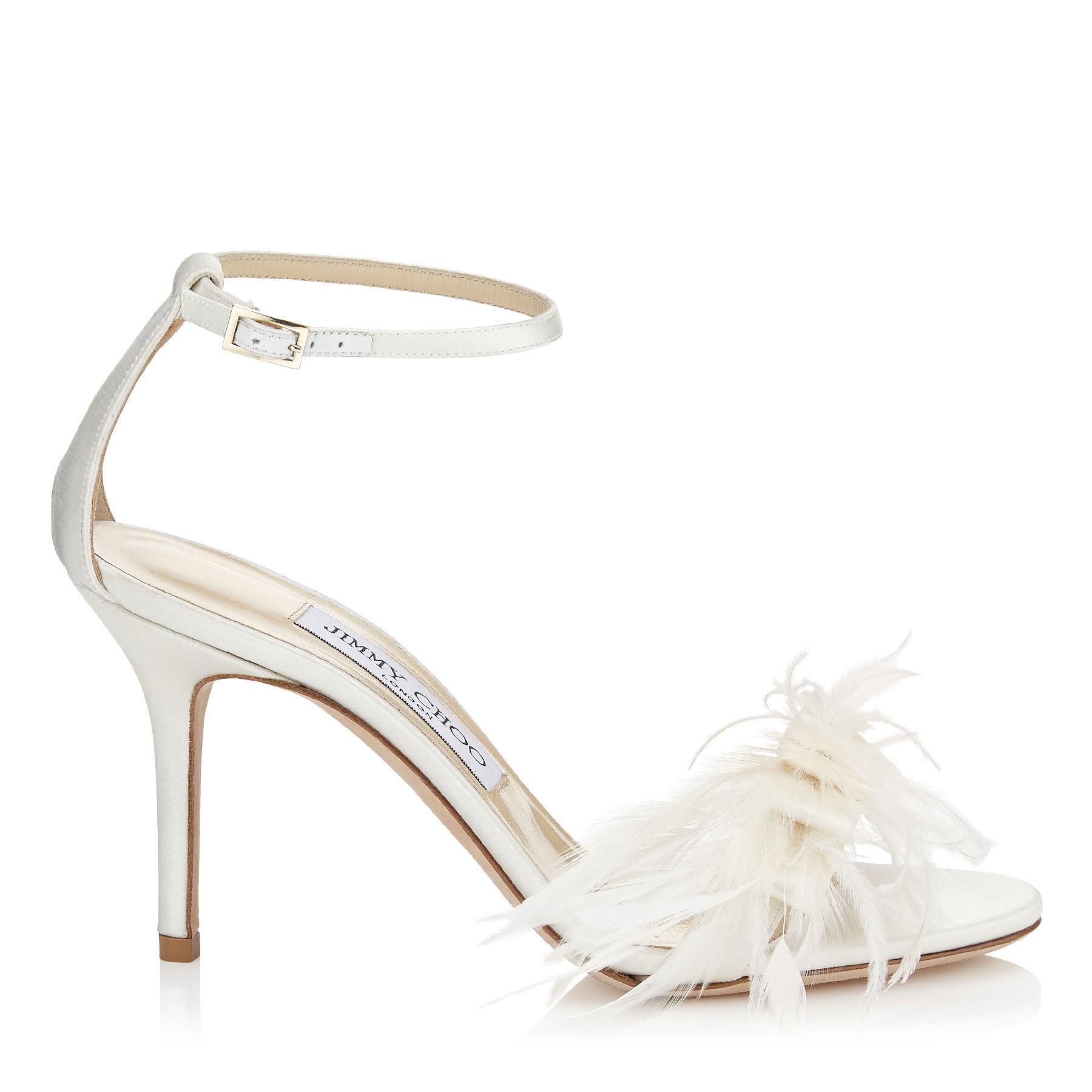 jimmy choo vivien 85 ivory jimmy choo wedding shoes Gallery