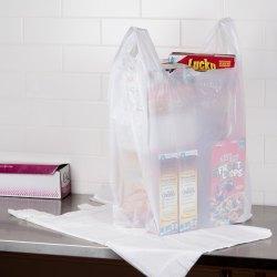 X 10 X 36 71 Mil White Unprinted Plastic T Shirt Bag 250case