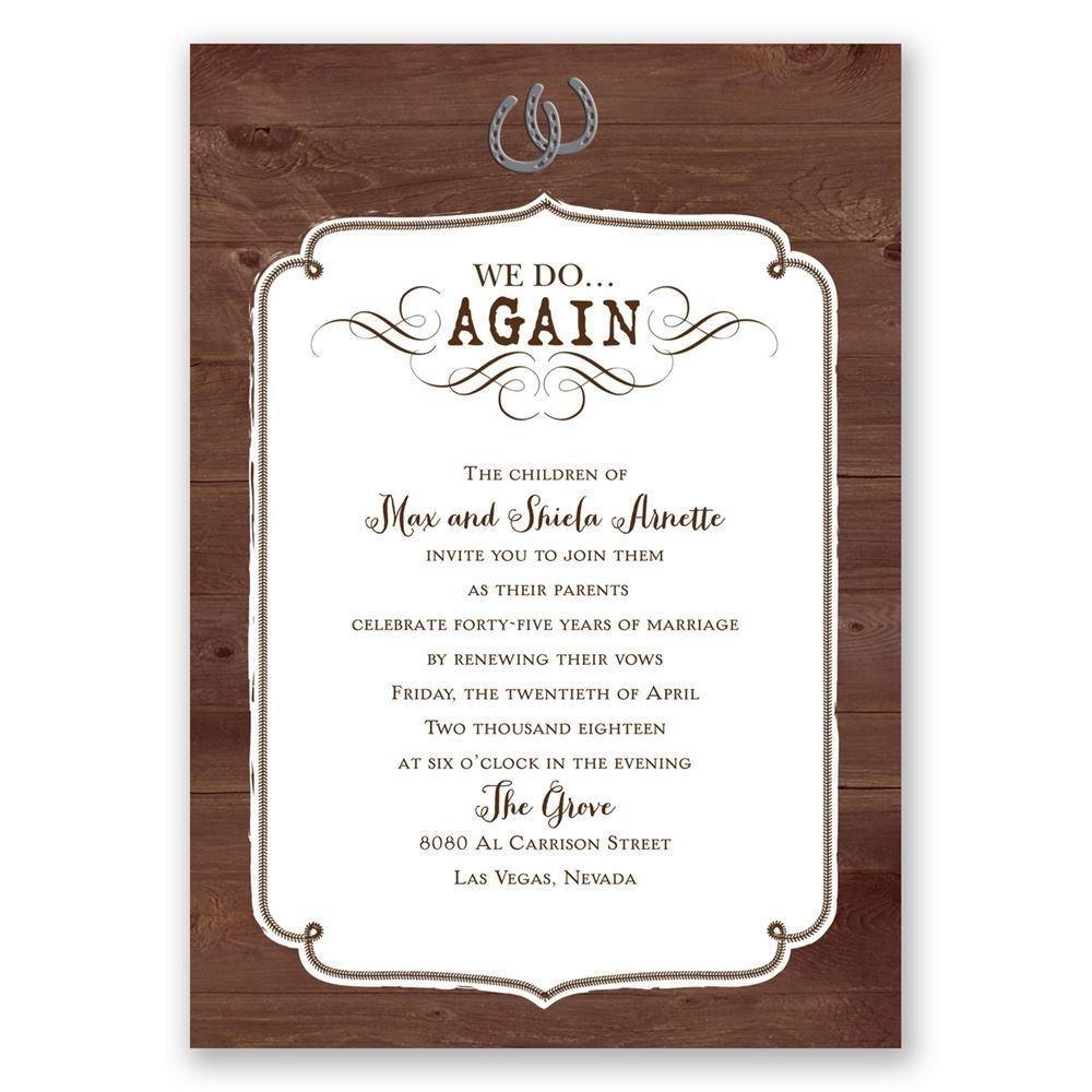 wedding invitations staples uk staples wedding invitations Wedding Invitations Staples Uk vow renewal invitations western revival vow renewal invitation