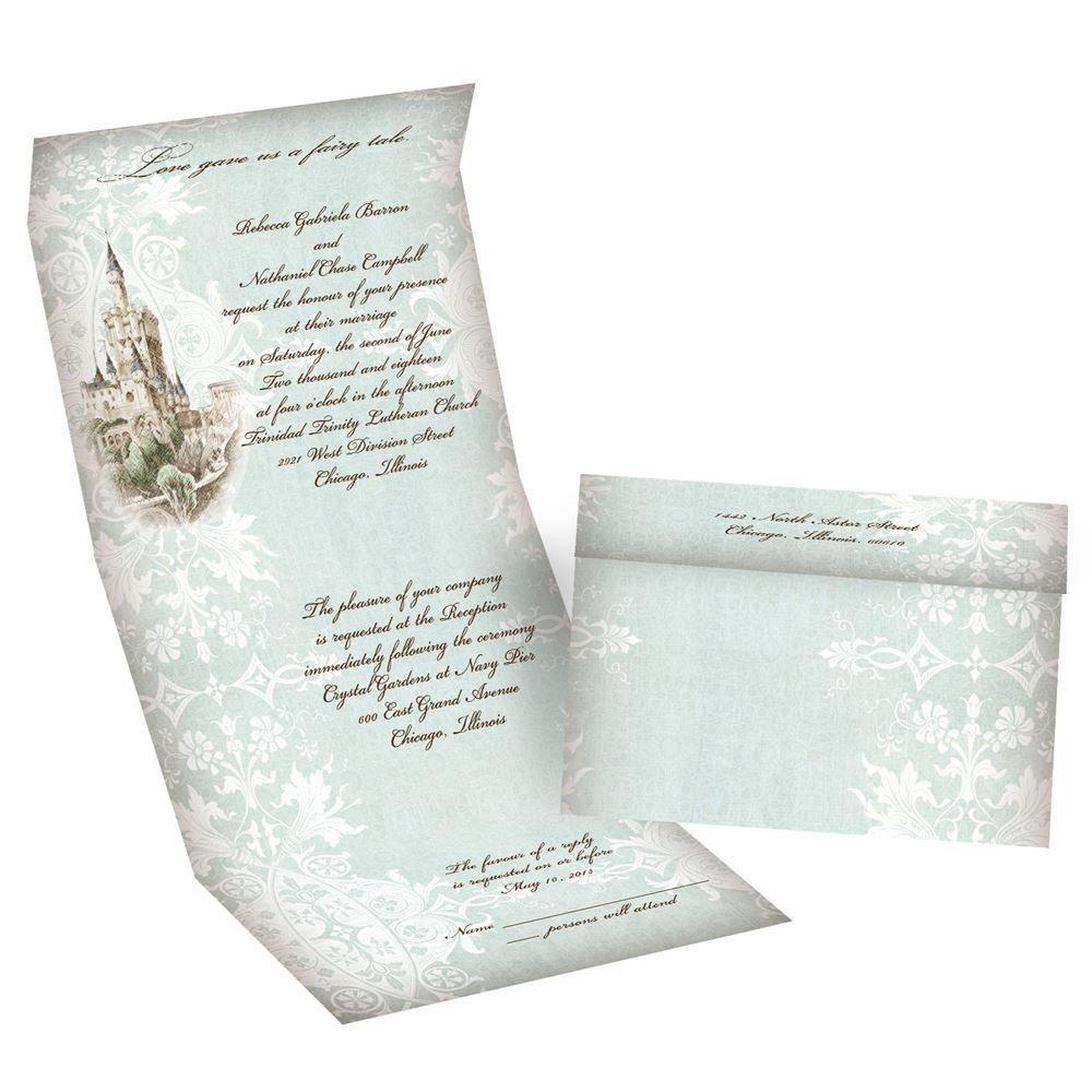 damask wedding invitations damask wedding invitations Damask Wedding Invitations Like a Dream Seal and Send Invitation
