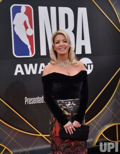 Jeanie Buss attends the 2019 NBA Awards in Santa, Monica, California - UPI.com