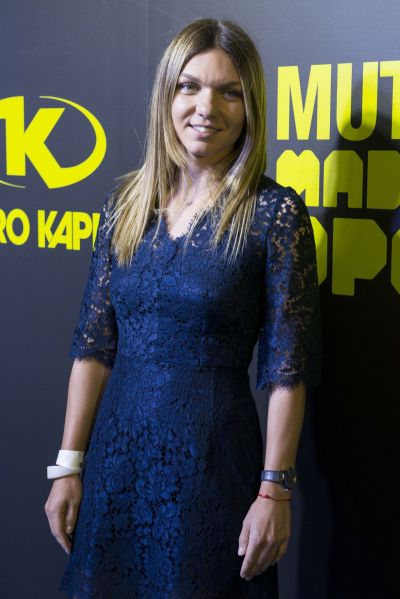 Simona Halep – Mutua Madrid Open Party at Teatro Kapital in Madrid 05/05/2017