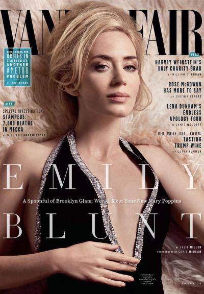 Emily Blunt - Vanity Fair Magazine February 2018