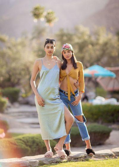 Amy Jackson – Festival Kick-Off Brunch at Coachella 2018