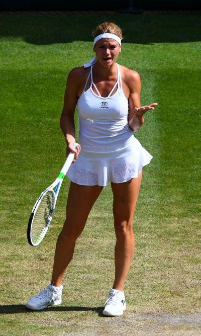 Camila Giorgi - Wimbledon Tennis Championships in London, Day 8