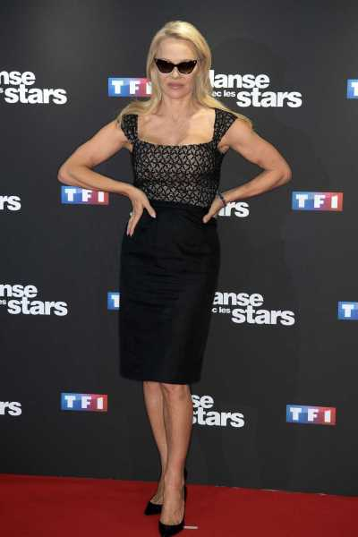 Pamela Anderson at the Danse Avec Les Stars Photocall at TF1 TV Studios in Paris 09/11/2018 ...
