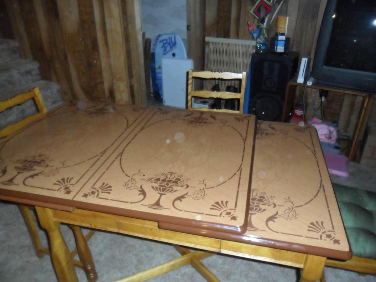 vintage metal top kitchen table vintage kitchen tables